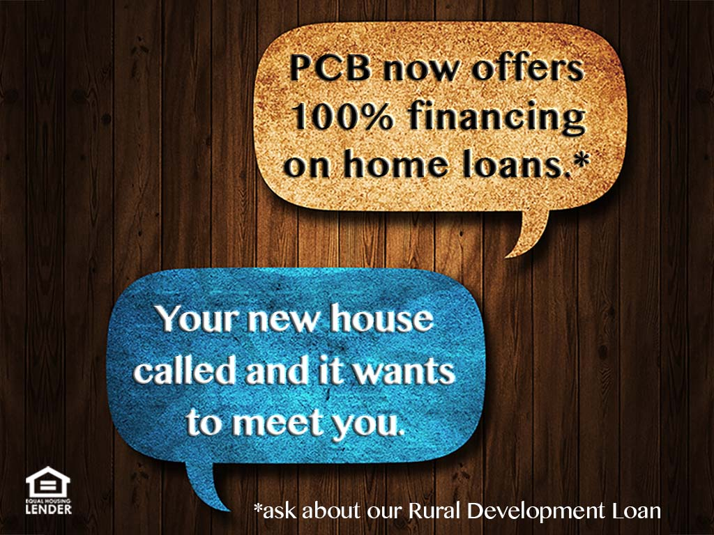 Learn more about Rural Development Loans.